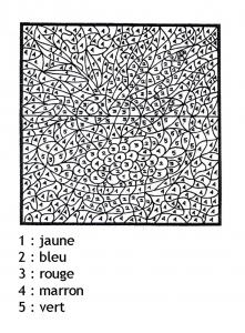 Coloriage magique de chateau coloriages pour enfants - Coloriage magique chiffres ...
