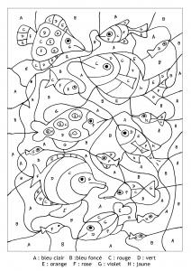 Poisson Coloriages Pour Enfants