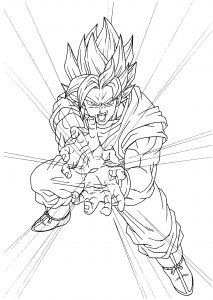 Dragon Ball Z Coloriages Pour Enfants