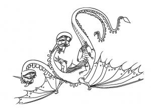 Dragon Coloriages Pour Enfants