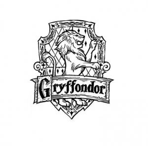 Coloriage Facile Harry Potter.Harry Potter Coloriages Pour Enfants