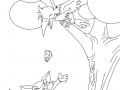 Renard coloriages pour enfants - Coloriage le corbeau et le renard ...