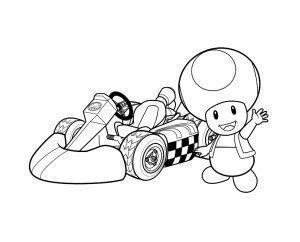 Mario Coloriages Pour Enfants
