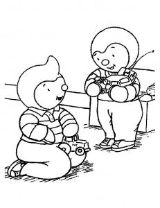 Tchoupi Coloriages Pour Enfants