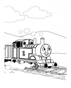 Tchoupi coloriages pour enfants - Train thomas et ses amis ...