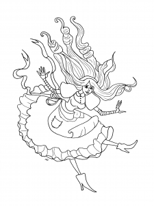 coloring-page-alice-free-to-color-for-kids