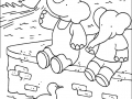 coloring-page-babar-to-color-for-children