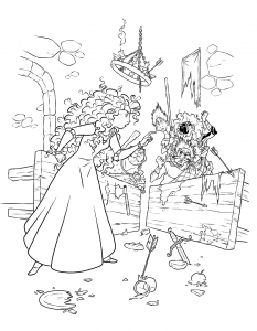 coloring-page-brave-to-color-for-children