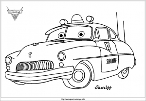 Coloriage Cars Doc Hudson.Cars Just Color Kids Coloring Pages For Children
