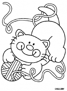 coloring-page-cat-to-color-for-kids