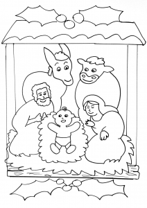 coloring-page-christmas-free-to-color-for-kids