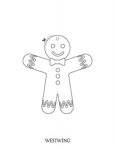 Coloring page christmas to print