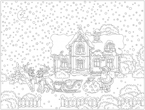 coloring-page-christmas-to-color-for-children
