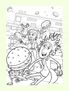 coloring-page-cloudy-with-a-chance-of-meatballs-free-to-color-for-kids