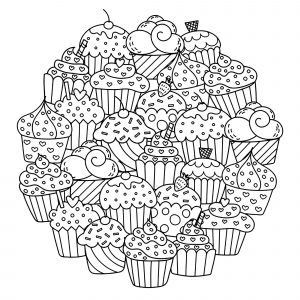 coloring-page-cupcakes-and-cakes-to-download
