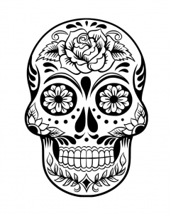 coloring-page-dia-de-los-muertos-(day-of-the-dead)-to-download