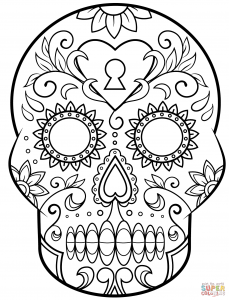 coloring-page-dia-de-los-muertos-(day-of-the-dead)-free-to-color-for-children
