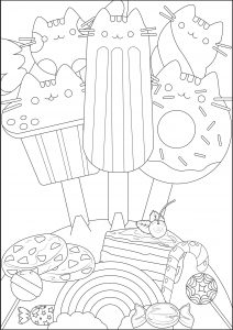 thumbs coloring pages for children doodle art 664