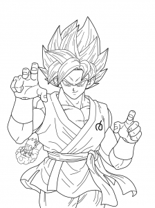 Trunks Dragon Ball Z Kids Coloring Pages