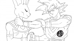 Beerus and SonGoku