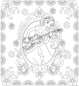 coloring-page-elena-avalor-to-print