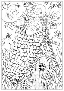 coloring-page-fairy-free-to-color-for-children