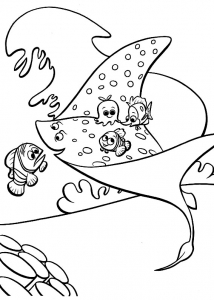 coloring-page-finding-nemo-to-color-for-children