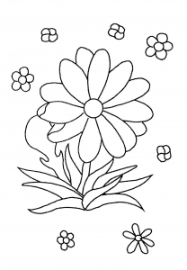 coloring-page-flowers-to-color-for-kids