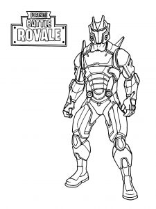 Fortnite Coloring Pages [25+ Free - Ultra High Resolution] | 300x225