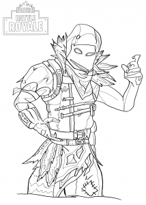 Fortnite Just Color Kids Coloring Pages For Children