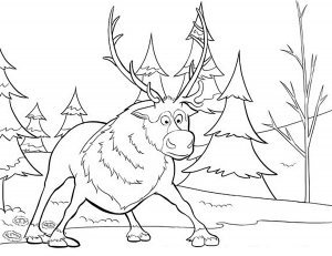 coloring-page-frozen-for-kids