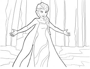 Frozen For Children Frozen Kids Coloring Pages