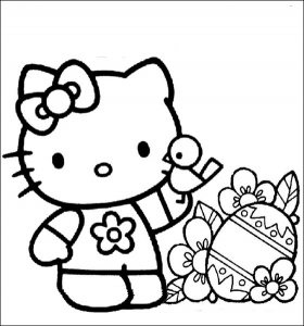 coloring-page-hello-kitty-to-print-for-free
