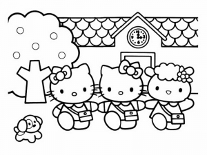 coloring-page-hello-kitty-free-to-color-for-children