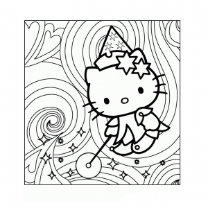 Hello Kitty To Color For Kids Hello Kitty Kids Coloring Pages