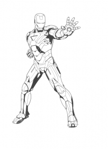 coloring-page-iron-man-free-to-color-for-kids