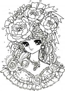 Kawaii To Print Kawaii Kids Coloring Pages