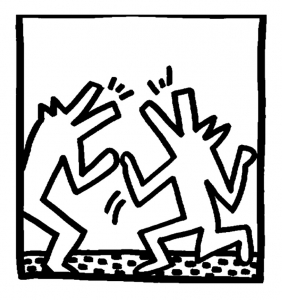 coloring-page-keith-haring-to-print