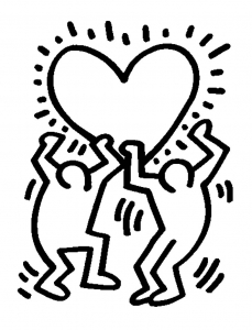coloring-page-keith-haring-to-download-for-free