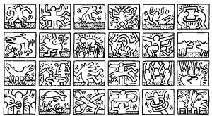 coloring-page-keith-haring-to-download