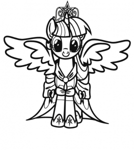 My Little Pony Just Color Kids Coloring Pages For Children