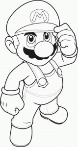 Mario Sonic Coloring Page Mario Bros Kids Coloring Pages