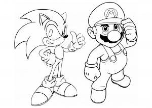 Luigi and Mario - Mario Bros Kids Coloring Pages