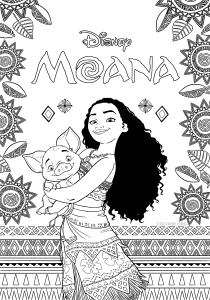 coloring-page-moana-free-to-color-for-children