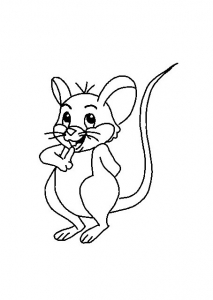 coloring-page-mouse-to-color-for-children