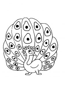 coloring-page-peacocks-to-download-for-free