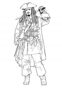 coloring-page-pirates-of-the-caribbean-free-to-color-for-kids