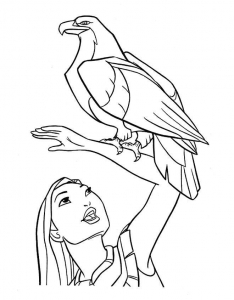 coloring-page-pocahontas-to-print-for-free