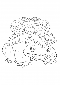 <b>Venusaur</b> (No.03) : Pokemon (Generation I)