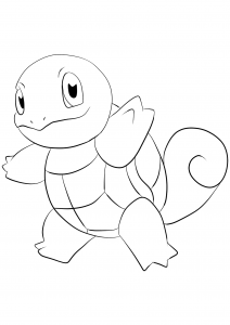 <b>Squirtle</b> (No.07) : Pokemon (Generation I)